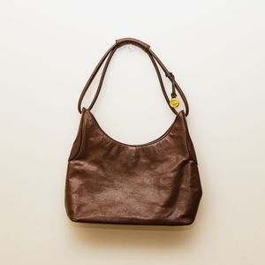 Dreamy brown Brahmin shoulder satchel